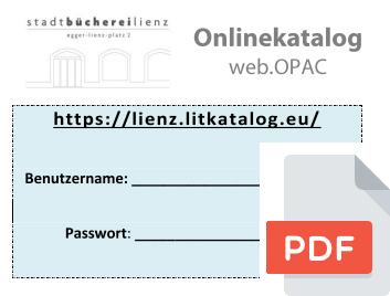 Benutzerfolder web.OPAC